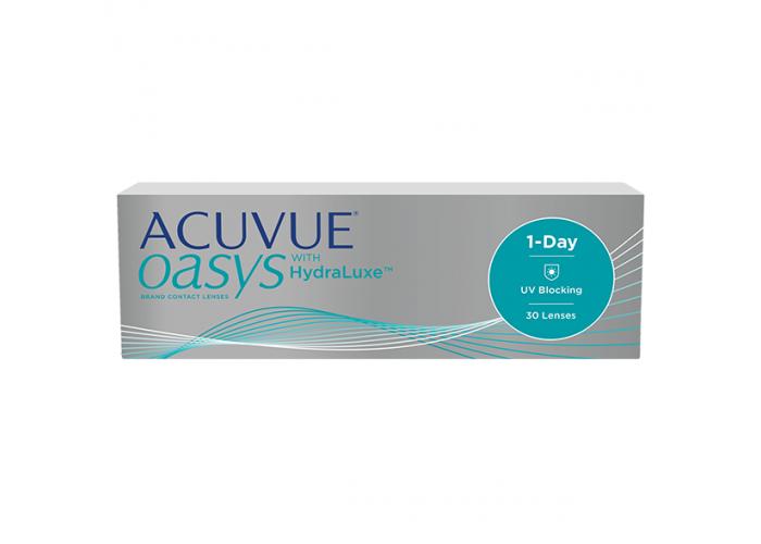 Контактные линзы Acuvue Oasys 1-Day with HydraLuxe