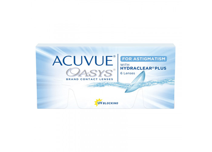 Контактні лінзи Acuvue Oasys For Astigmatism