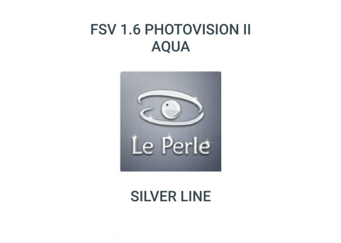 FSV 1.6 PhotoVision ІІ Aqua (Silver line by Le Perle)