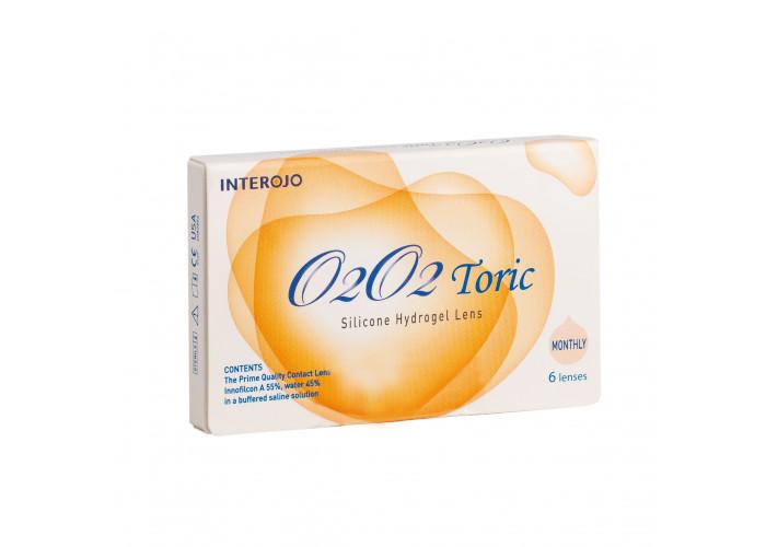 Контактные линзы Interojo O2O2 Toric
